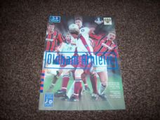 Oldham Athletic v Blackpool, 1997/98